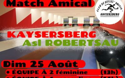Match amical ASL vs Kaysersberg