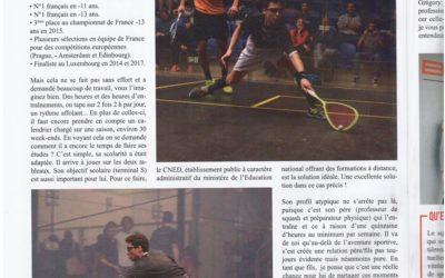 Le squash fait le Une